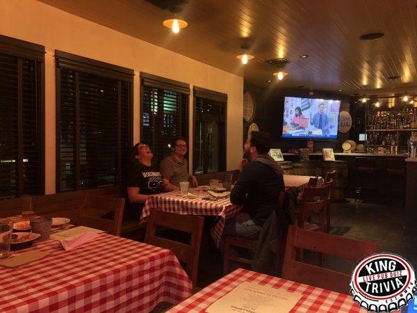 Trivia Night at Barrel & Ashes — King Trivia